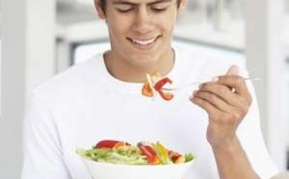 Erkeklerde Beslenme